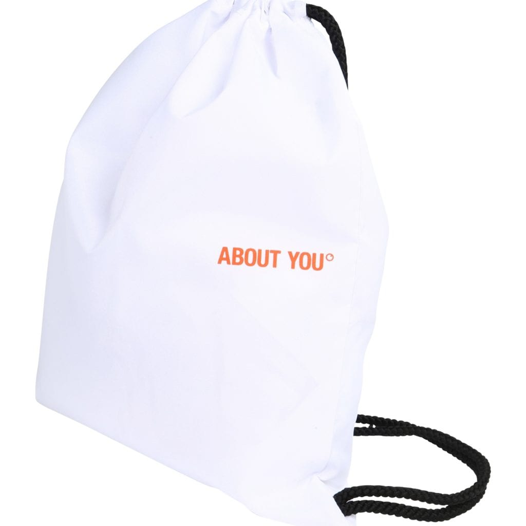 ABOUT YOU Bolsa para gimnasio 'Icons' blanco