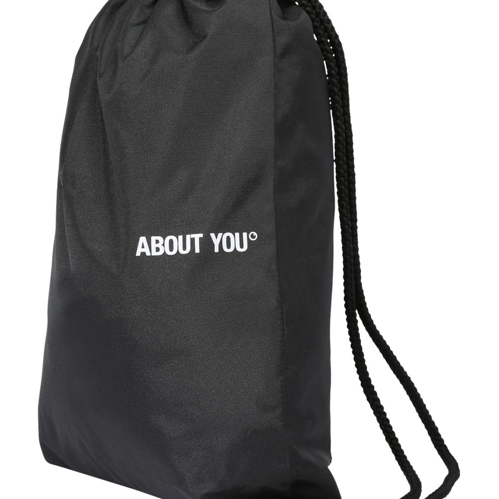 ABOUT YOU Bolsa para gimnasio 'Icons' negro