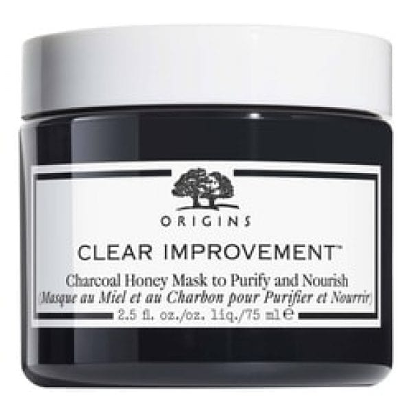 Clear Improvement Charcoal Honey Mask - Mascarilla de miel y carbón
